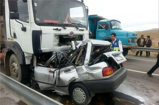 آمار کشتگان حوادث رانندگی در کرمانشاه 8 درصد رشد داشته است