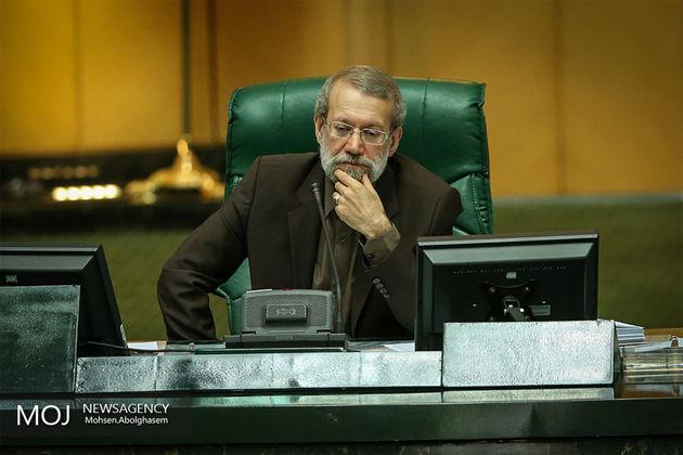 لاریجانی از پایداری آزادگان تقدیر کرد