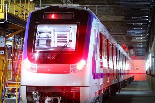 خدمات متروی تهران برای تسهیل در تردد شرکت کنندگان در راهپیمایی 13 آبان