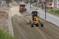 تکمیل و بهره برداری از بلوار 36 متری دگایران سنندج در روزهای آتی