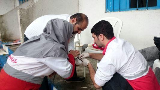 تحویل یک قطعه پرنده نوک خنجری به اداره حفاظت محیط زیست رودسر