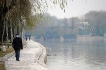 کیفیت هوای اصفهان ناسالم برای گروه های حساس/ شاخص کیفی هوا 110