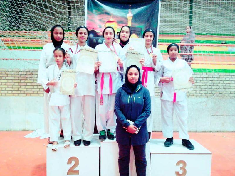 درخشش دختران کاراتهکار باشگاه امید فردا در مسابقات کشوری