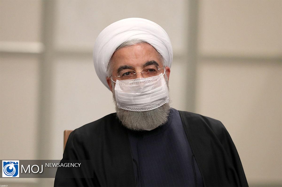 آرزوی سلامتی روحانی برای نخست وزیر پاکستان در پی ابتلا به کرونا