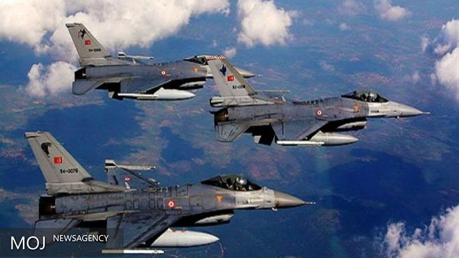 بمباران مواضع کردهای سوریه در شهر جرابلس