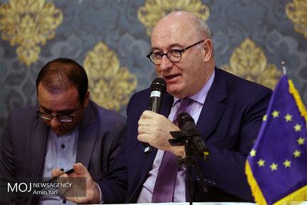 نشست خبری مشترک کمیسیونر کشاورزی اتحادیه اروپا و وزیر جهاد کشاورزی