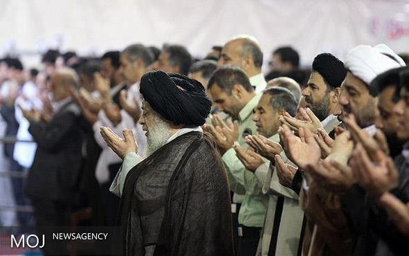 اقامه باشکوه نماز عید سعید فطر در اهواز