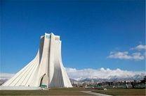 کیفیت هوای تهران در 25 شهریورماه سالم است