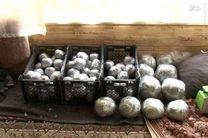توقیف محموله نارنجک های دست ساز در مشهد