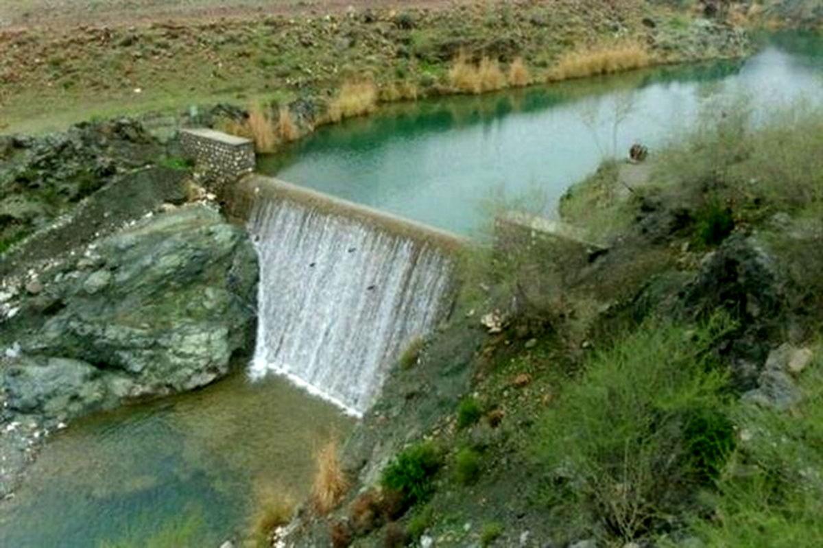 آبگیری سازههای آبخیزداری پارسیان