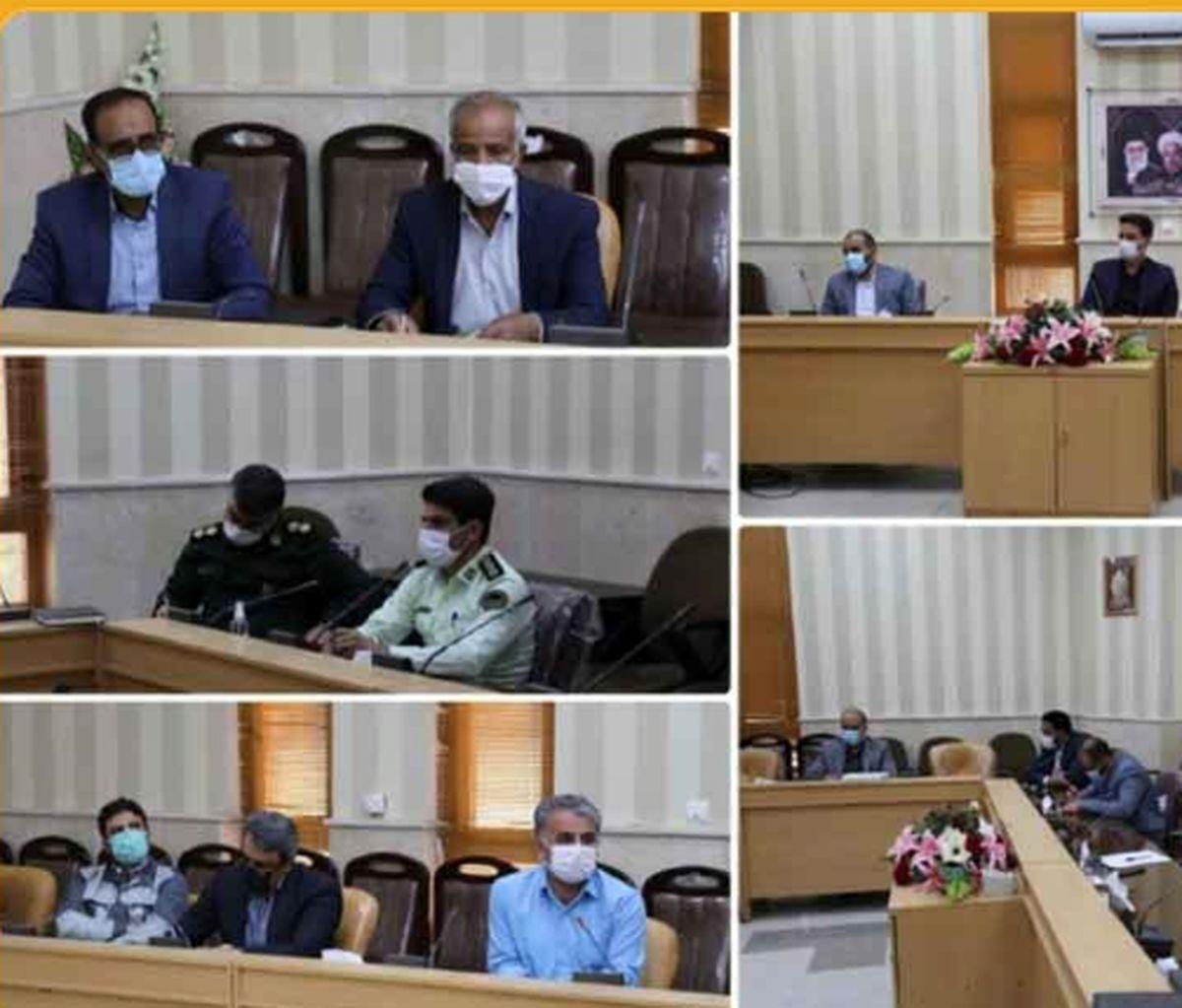 نشست کمیسیون کارگری شهرستان بافق برگزار شد