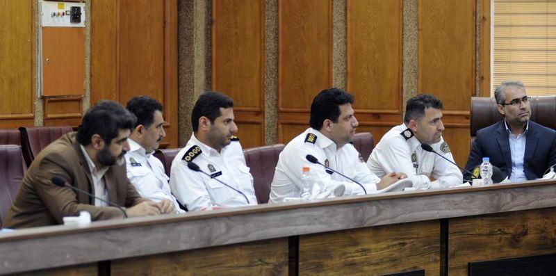 جلسه شورای ترافیک شهرستان رشت در فرمانداری+تصاویر