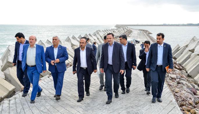 بهره برداری رسمی از ساختمان جدید گمرک ایران مستقر در منطقه آزاد انزلی
