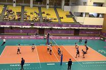 پیروزی راحت والیبالیست های ایران مقابل امارات