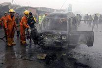 انفجار خودروی بمب گذاری شده در شمال غرب پاکستان