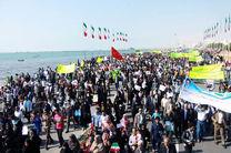 مسیرهای راهپیمایی ۲۲ بهمن در شهرستان ها و بخش های هرمزگان اعلام شد