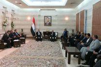 دیدار مقامات ایرانی با نخستوزیر سوریه