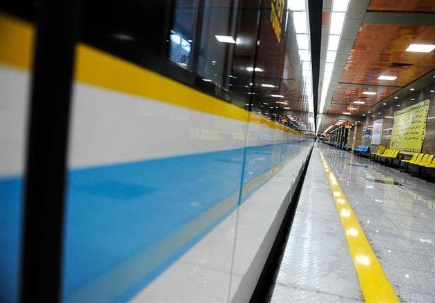 خدمات دهی متروی تهران به تماشاگران دیدارهای تیمهای ملی فوتبال و والیبال