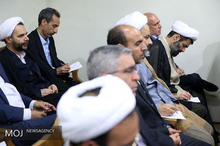 دیدار رییس و مسئولان قوه قضاییه با مقام معظم رهبری