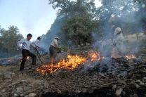 دو آتشسوزی در خوزستان/ 40 هکتار از جنگلهای خسرج آسیب دید