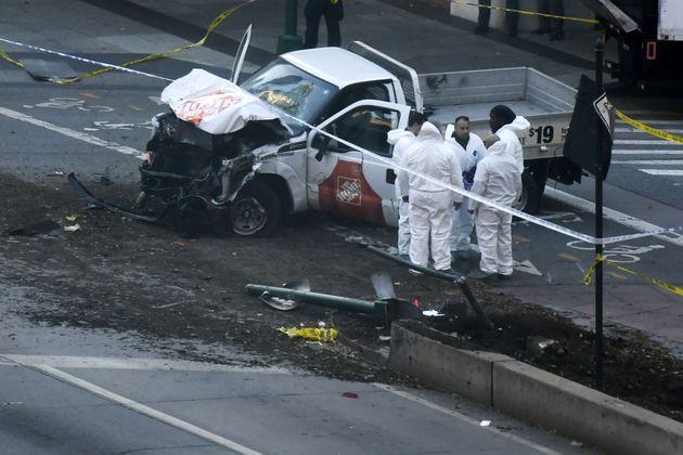 دست کم 8 تن در حمله وانت به مسیر دوچرخه سواران منهتن کشته شدند