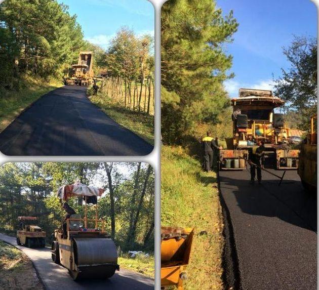 اتمام دو پروژه آسفالت راه روستایی طی روزهای اخیر