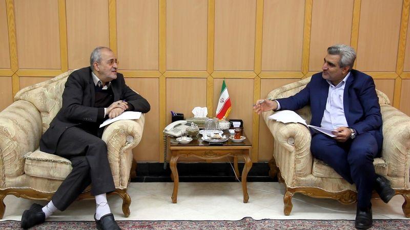 دیدار استاندار گیلان و مدیرعامل شرکت مدیریت منابع آب ایران