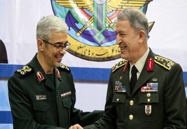 سرلشکر باقری از رئیس ستاد ارتش روسیه استقبال کرد