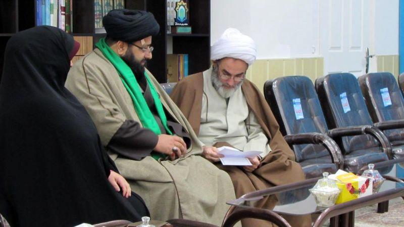 ملاقات عمومی آیت الله فلاحتی با طلاب و روحانیون گیلان برگزار شد
