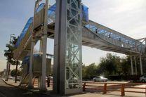 ده دستگاه آسانسور روی پنج پل عابر پیاده در مشهد احداثشد