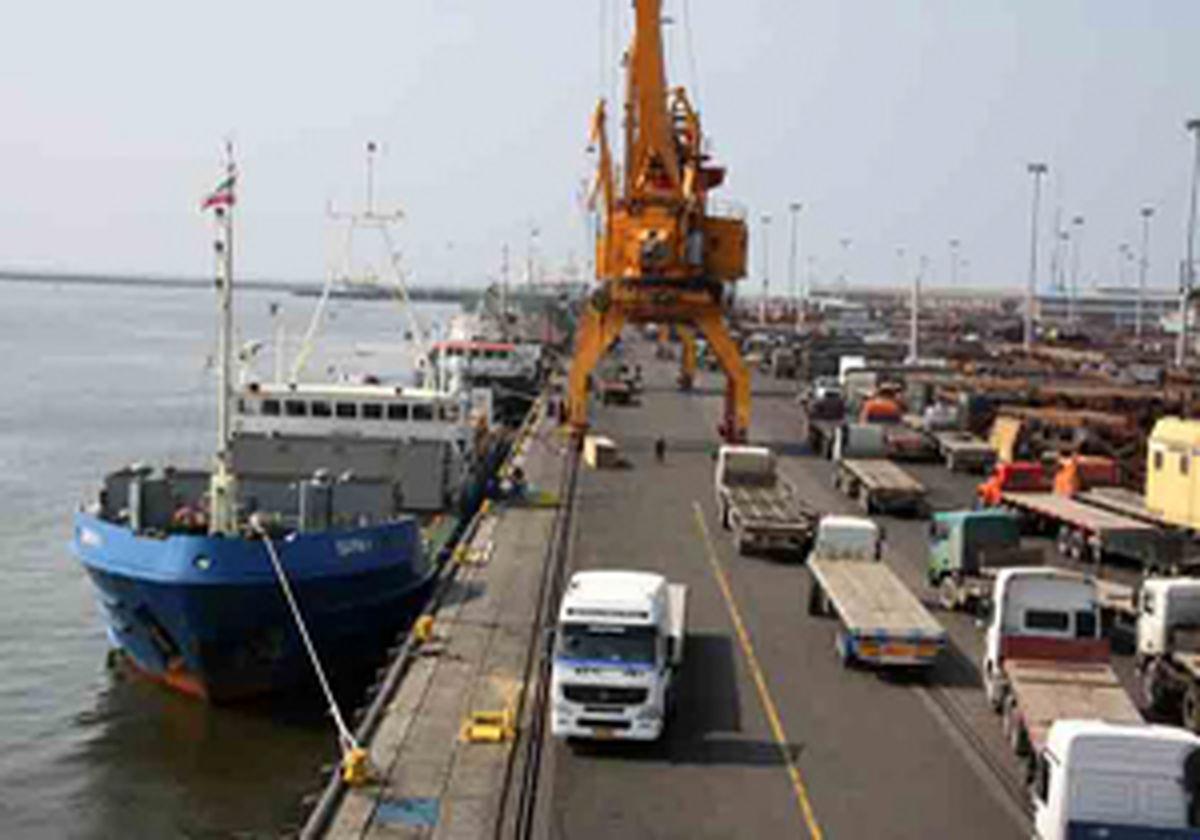 ۲ میلیون و ۷۷۷ هزار تن حجم تجارت خارجی گمرکات مازندران