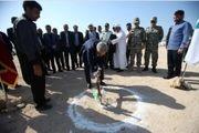 ساخت نخستین مسجد روی آب کشور در کیش