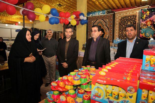 نمایشگاه لوازم التحریر ویژه خانواده بزرگ ذوب آهن اصفهان آغاز به کار کرد
