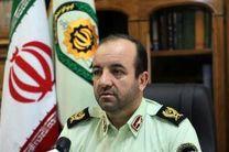 کشفیات سرقت در مرکز کرمانشاه ۳۶ درصد افزایش یافت