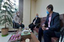 دیدار مدیر مخابرات اصفهان با مدیرکل ارتباطات و فناوری اطلاعات استان اصفهان