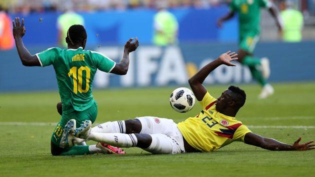 نتیجه بازی سنگال و کلمبیا در جام جهانی/صعود کلمبیا به مرحله بعد