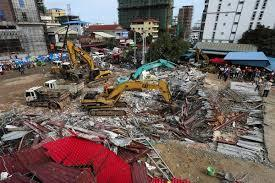 Cambodia building collapse left 36 killed and 23 injured