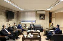 دیدار مدیر شعب بانک صادرات با سرپرست مخابرات استان اصفهان