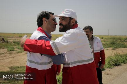 حال و هوای کمپ های مناطق سیل زده خوزستان