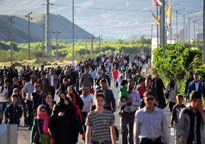برگزاری همایش پیاده روی خانوادگی در فین