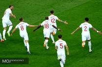 برتری انگلیس مقابل کرواسی در نیمه نخست
