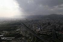 کیفیت هوای تهران ۲۴ شهریور ۹۹/ شاخص کیفیت هوا به ۹۰ رسید