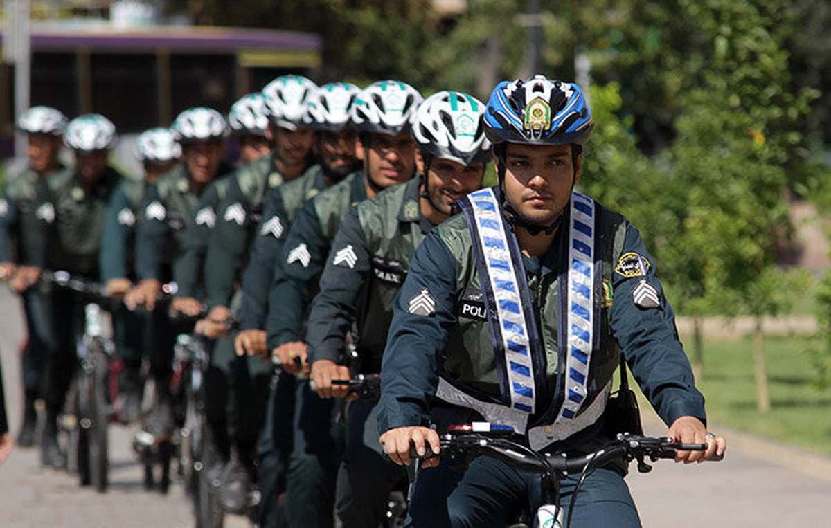 آغاز به کار «پلیس دوچرخه سوار» در منطقه ۷ تهران
