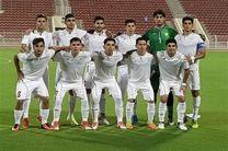 تساوی جوانان فوتبال ایران در برابر ارمنستان