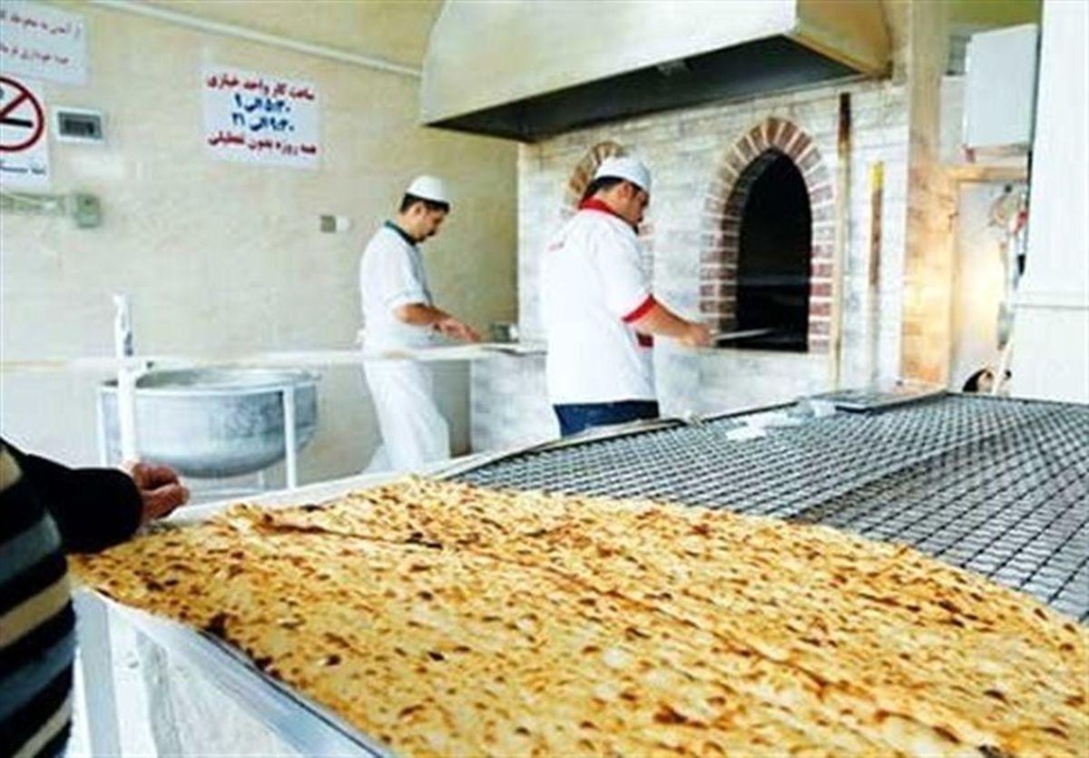 پلمب یک  نانوایی متخلف در شهرستان آران و بیدگل