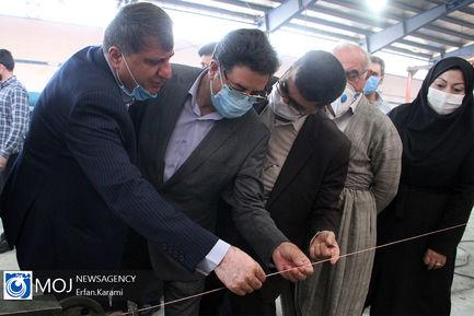 افتتاح واحد تولیدی در شهر سنندج