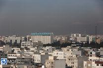 وضعیت قرمز پایتخت در ۱۹ ایستگاه سنجش کیفیت هوا