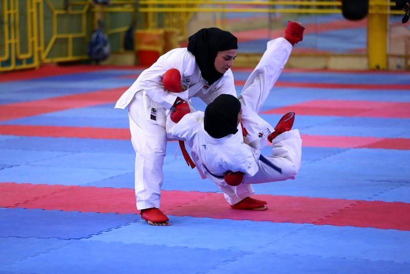 حذف دو بانوی کاراته کای تیم جوانان