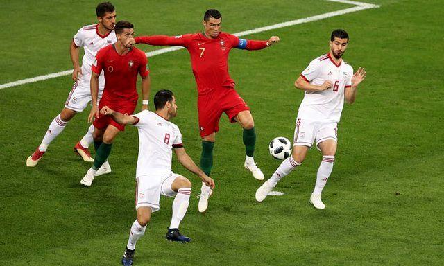 گزارش لحظه به لحظه بازی ایران و پرتغال/ ایران 1  پرتغال 1