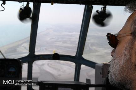 بازدید رییس مجلس از سواحل خلیج فارس
